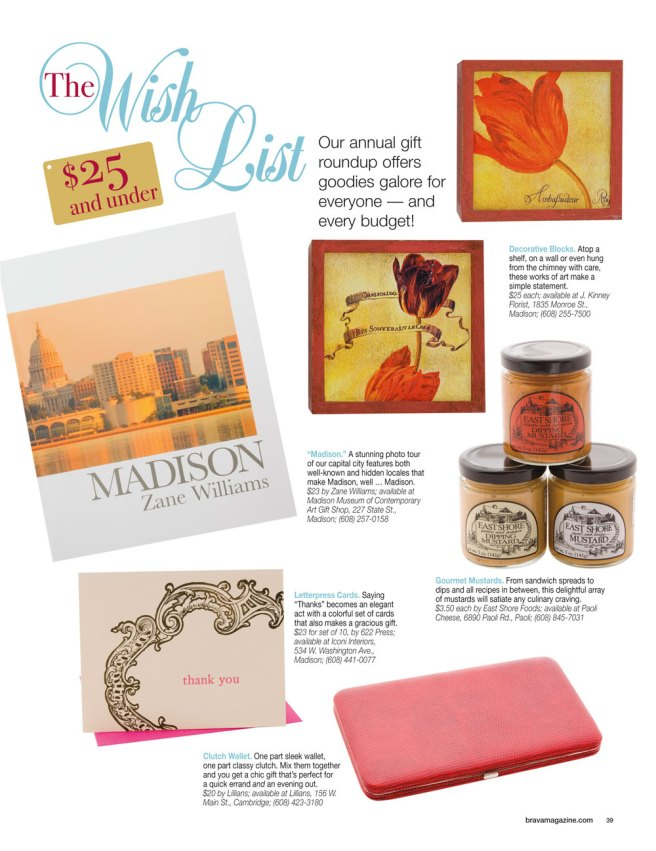 brava Magazine's holiday gift guide