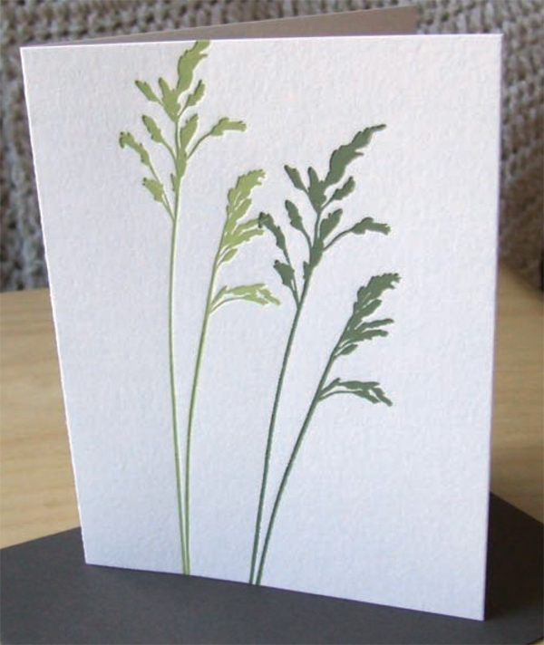 tonal grasses card