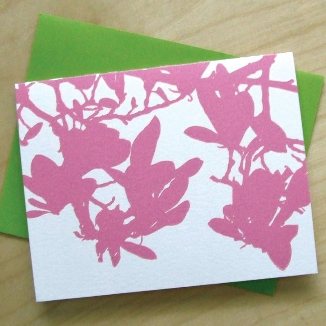Magnolia Letterpress notecards