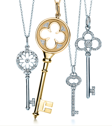 Tiffany & Co. key necklaces