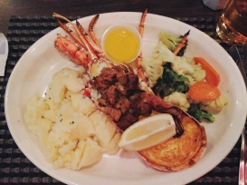 Bermuda lobster! (Note no claws!)