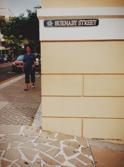 Street signs here are posted on buildings... walls... or sometimes not at all!