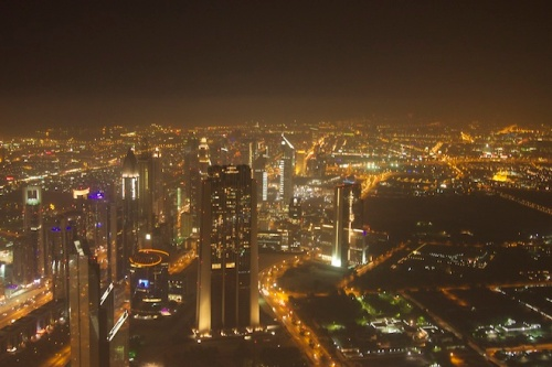Burj Khalifa View Skyline