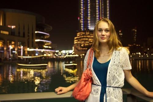 Elise at the Dubai Mall