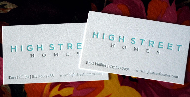 Custom letterpress business cards – 622 press | LETTERPRESS GOODS ...