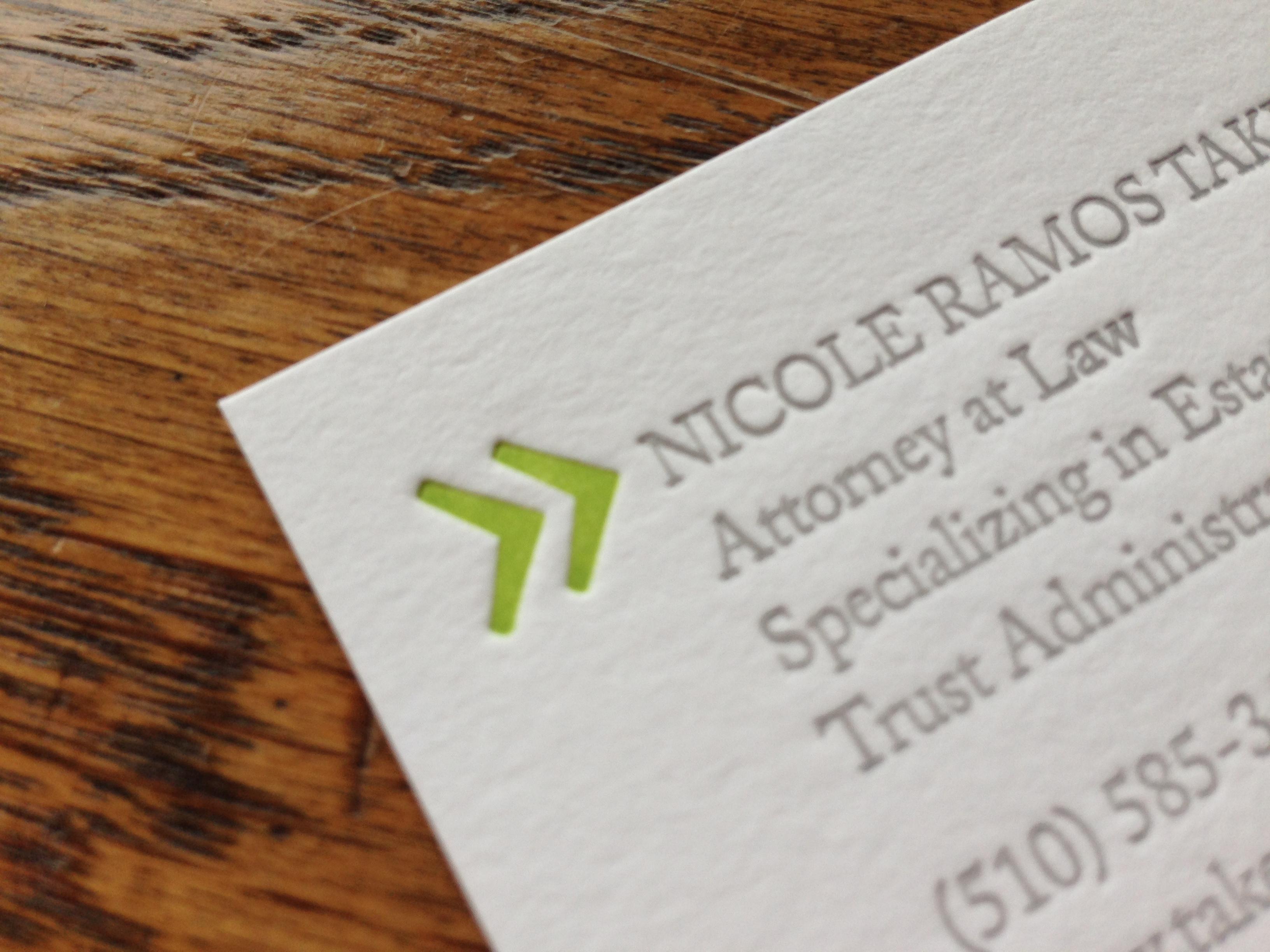 Custom Letterpress Business Cards 622 Press Letterpress Goods