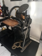 A fully restored version of my press!